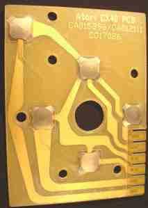 Gold CX40 PCB